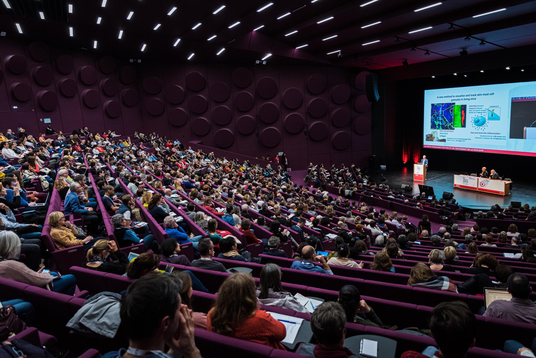 Strasbourg, France, le 28 novembre 2019. 19eme congrès de la Société Française d'étude et de traitement de la douleur.